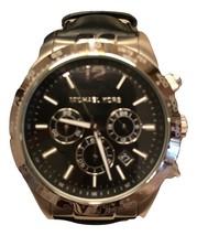 michael kors mens watch Black chronograph - $128.00