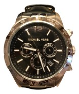 michael kors mens watch Black chronograph - $128.00