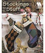 Stockings to Stuff Crochet Christmas Mantle Pineapple Cream Black Small ... - $8.99