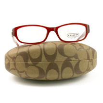 COACH 6008 5029 Eyeglasses Burgundy 51 17 135 Demo Lens without case fin... - $60.80