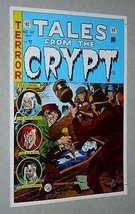 Vintage original EC Comics Tales from the Crypt 42 horror cover art poster:1970s - $29.99