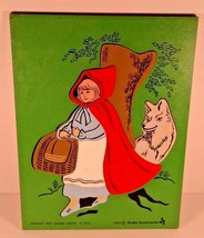Judy Instructo Red Riding Hood Wooden Puzzle J106002 1980 - $19.95