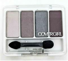 New Cover Girl Eye Enhancers Shadow #286 Smokey Nudes 4-Kit Sealed Quick... - $4.49