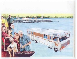 Winnebago Sales Brochure, 1969 cookout 24x24 Inch   Ready to ship now - $18.99