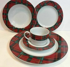 "American Atelier ""ABERDEEN"" 5 PC. Place Setting Service For 1 (Oven Safe... - $39.59"