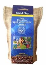 Island Blue 100% Jamaica Blue Mountain Coffee (Roasted & Ground) - 4 oz - $26.72