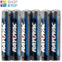 6 Rayovac Aaaa Maximum Plus LR8D425 25A Alkaline Batteries 1.5V Exp 2022 New - $4.64