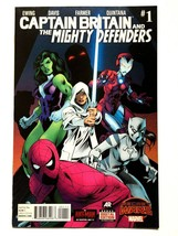 Captain Britain & Mighty Defenders  #1 (OF 2) Marvel Comics VF/NM - $7.84