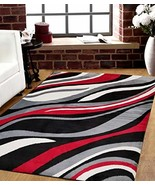 SavaHome 1125_BLC_BNE 5 feet by 7 feet Decorative Area Rug Designer's Ch... - $55.61