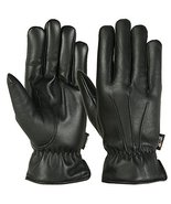 Small Size Mens Warm Winter Gloves Dress Glove Thermal Lining Genuine Le... - $35.64