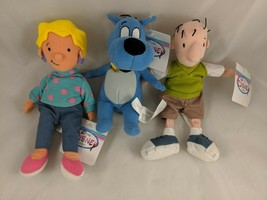 Disney Doug Patti Porkchop Dog Bean Plush Lot Stuffed Animal - $18.06