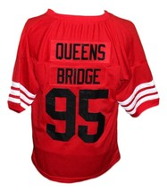 Queens Bridge #95 Shook Ones Hennessy New Men Football Jersey Red Any Size image 2
