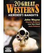 20 Great Westerns: Heroes  Bandits (DVD, 2008, ... - $12.00