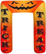 8' Airblown Archway Kaleidoscope Trick or Treat Halloween Inflatable - $65.95
