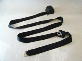 78 Mercedes R107 450SL seat belt, right, black - $74.79