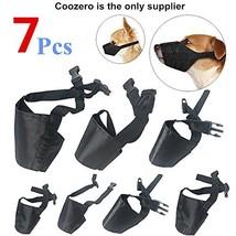 Dog Muzzles Suit, 7 PCS Anti-Biting Barking Muzzles Adjustable Dog Mouth... - $14.71