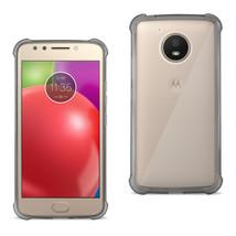 Reiko Motorola Moto E4 Active Clear Bumper Case With Air Cushion Protect... - $10.62