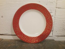 """Mikasa Parchment Red Salad Plate 8"""" Multiples Available - $5.93"""
