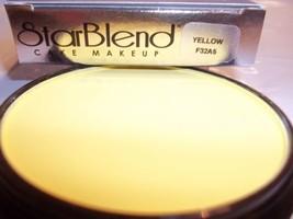 Mehron Yellow Star Blend Cake Pancake Water Base Stage Makeup Professional - $12.86