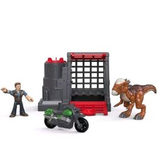 Imaginext Fisher-Price Jurassic World, Stygimoloch & Owen Multicolor Chr... - $37.49