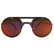 SPITFIRE Algorithm Sunglasses in Silver/Red - $61.17