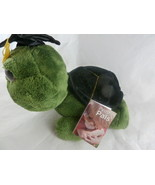 Aurora World People Pals Turtle Graduate Graduation Green Large Eyes plu... - $14.84