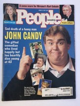 People Magazine, March 21, 1994, John Candy on Cover, Celebrity Magazine  - $9.90