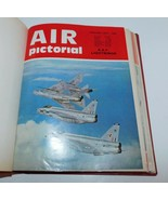 AIR PICTORIAL 1972 12 Issues Hardbound Military Jets, Bombers Aviation, ... - $29.02