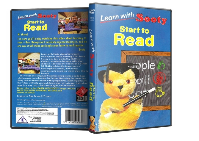 Primary image for Sooty DVD - Sooty Learns To Read DVD