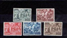 1951 Council of Chalcedon Set of 5 Vatican Stamps Catalog Number 149-53 MNH