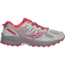 New❤Saucony Excursion TR11 Womens Trail Running Shoes S10392-1◾8.5 M Gray Pink - $61.74