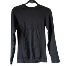 Falke Maximum Warm Long Sleeve Underwear Shirt Tight Fit Black Large NWT - $112.03