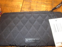 Vera Bradley Retired Classic Black Accordion Wallet Brand New - $79.99