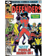 The Defenders Comic Book #74, Marvel Comics 1979 VERY FINE - $3.25
