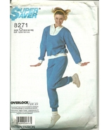 Simplicity Sewing Pattern 8271 Super Saver Misses Exercise Outfit 12 14 ... - $9.99