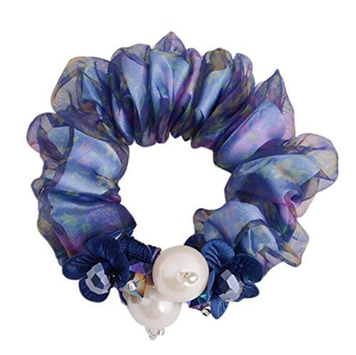 2 Pieces Elegant Hair Rope Ponytail Holders Hair Headwear, NO.4