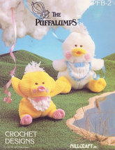 The Puffalumps, Millcraft Crochet Pattern Booklet PPB-2 Mom and Baby Duc... - $21.95