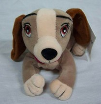 """Disney Lady and the Tramp LADY DOG BEAN BAG 6"""" STUFFED ANIMAL Toy NEW - $15.35"""