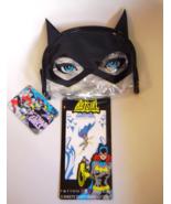 Gotham Girls Batgirl Cat Ears Makeup Bag and Batgirl Junkee Tattoos 2 sh... - €8,94 EUR