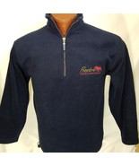 Pumba Private Game Reserve South Africa Blue Embroidered 1/3 Zip S Small - $22.44