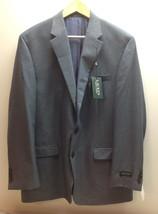 Lauren Ralph Lauren Men's Blue Textured Classic Fit Blazer, Size 44 L - $118.79