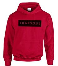 CC Bryson Tiller Trapsoul Hoodie Red (Black Print) - $29.99