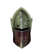 Okala Natu New Medieval Knight Armor Crusader New Templar Helmet Helm wi... - $55.00