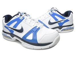 Nike Air Max Global Court White/Obsidian-Treasure Blue 6 US 38.5 EUR - $64.34