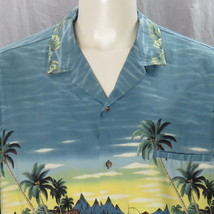 Royal Creations Hawaiian Shirt 3XL Aloha Islander Camp Outrigger Made In... - $37.39
