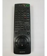 Original Genuine SONY VHS RMT-V186E VTR/TV Remote Tested & Working R6 - $26.43