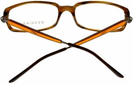 New Bvlgari Eyeglasses Frame Unisex Brown Havana Fashion Rectangular BV429 685  - $187.11