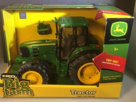 Ertl Big Farm Lights and Sounds John Deere Tractor - $29.69