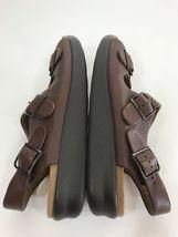 11 Strap Sas EUC Buckle Sz Brown Comfort Sandals Relaxed Womens Tripad 3 Narrow qt6ntPA