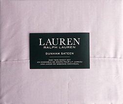 Ralph Lauren Dunham Ballet Pink Sheet Set Twin - $59.00